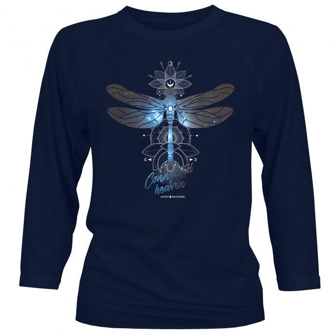Crystal Long Shirt NinaHerzberg Connected2020 Navy