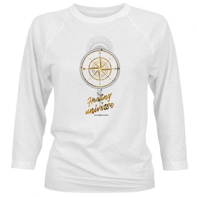 Crystal Long Shirt NinaHerzberg Healing2020 White