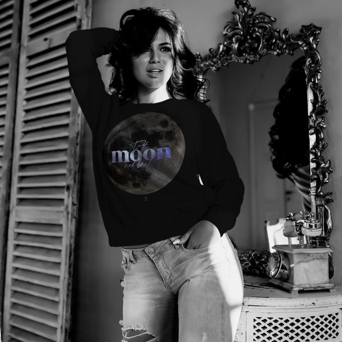 Crystal Sweatshirt To the moon and back Live