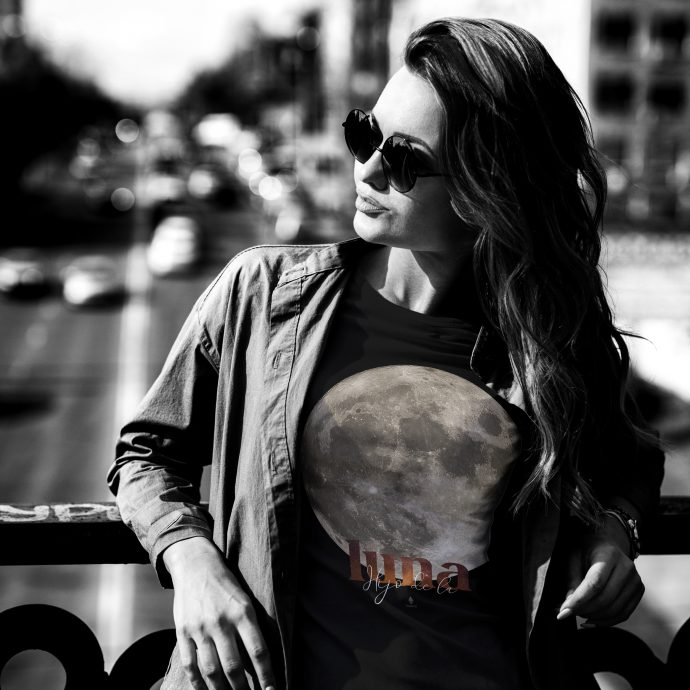 Crystal T Shirt Hijo de la luna Live