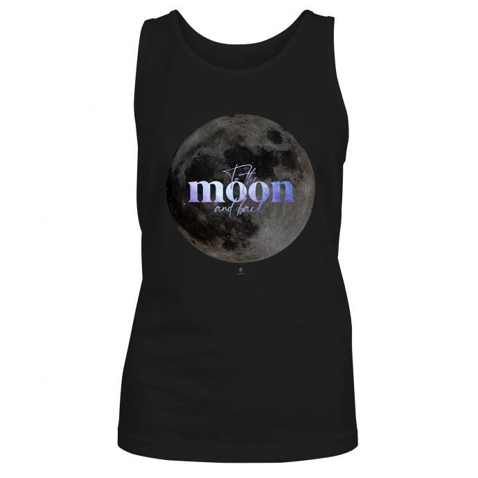Crystal Tank Shirt To the moon and back