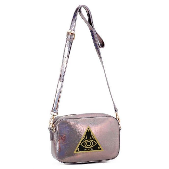 Crystal Mini Schultertasche 21 Silver