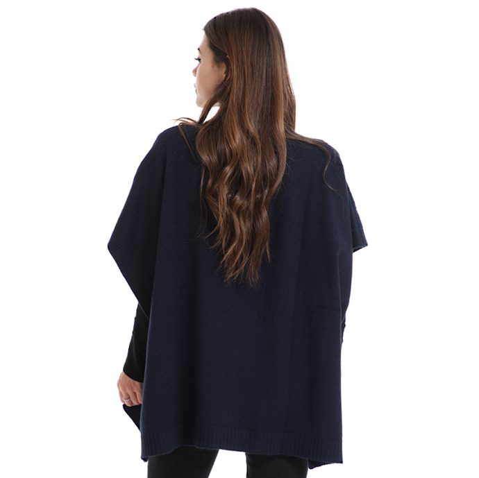 Crystal Poncho Two Back