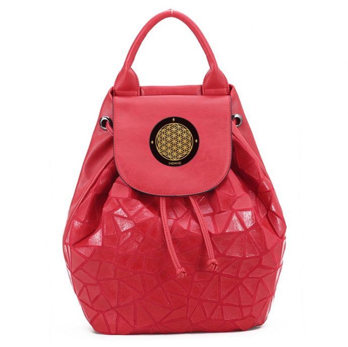 Crystal Rucksack Eight Red
