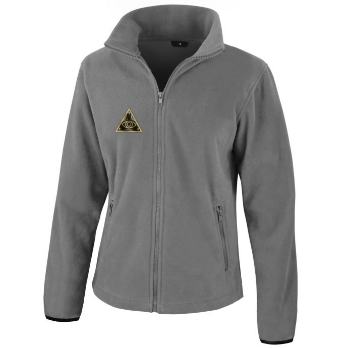 Crystal Fleece Jacke One Grey