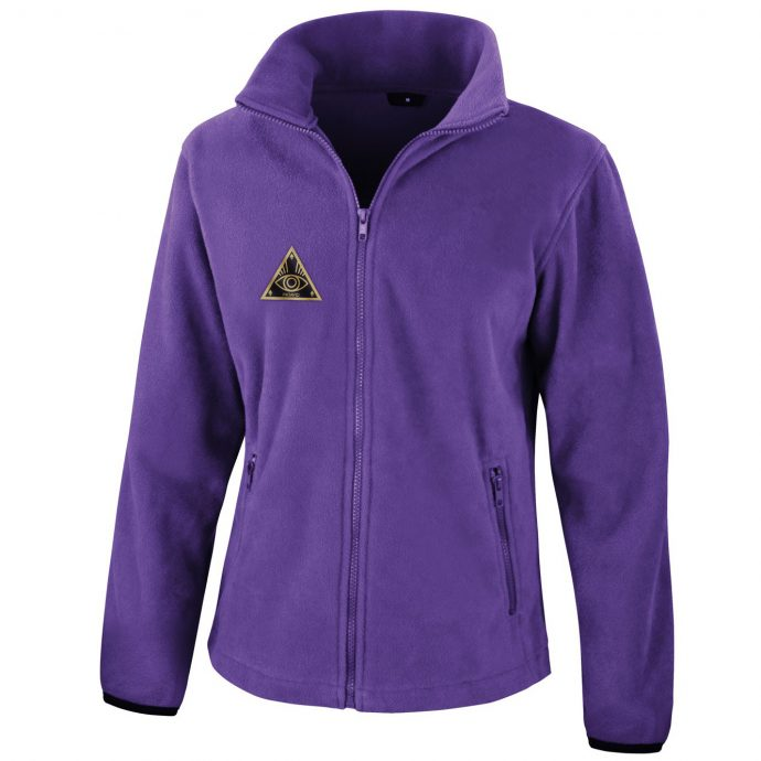 Crystal Fleece Jacke One Purple