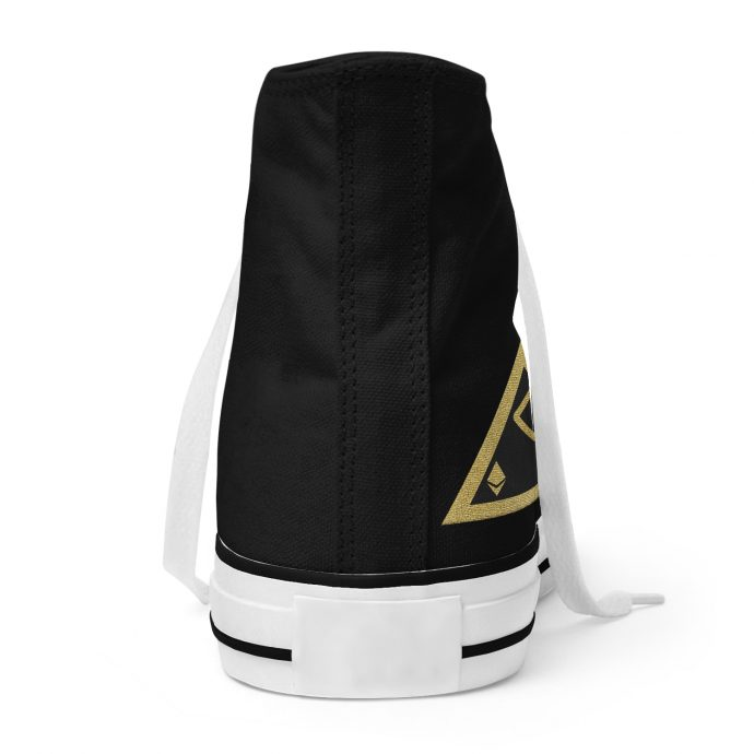 Crystal High Sneaker AllSeeingEye Black Back