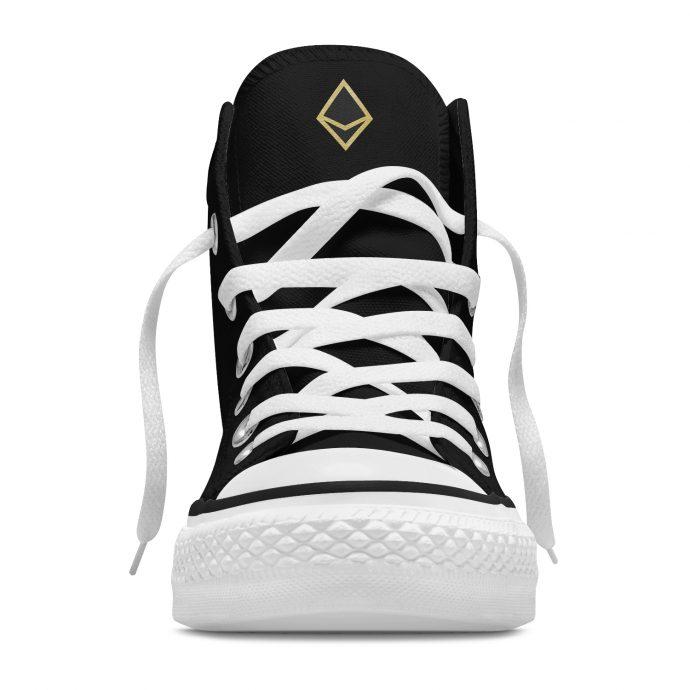 Crystal High Sneaker AllSeeingEye Black Front