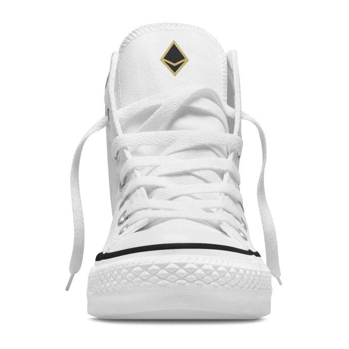 Crystal High Sneaker AllSeeingEye White Front