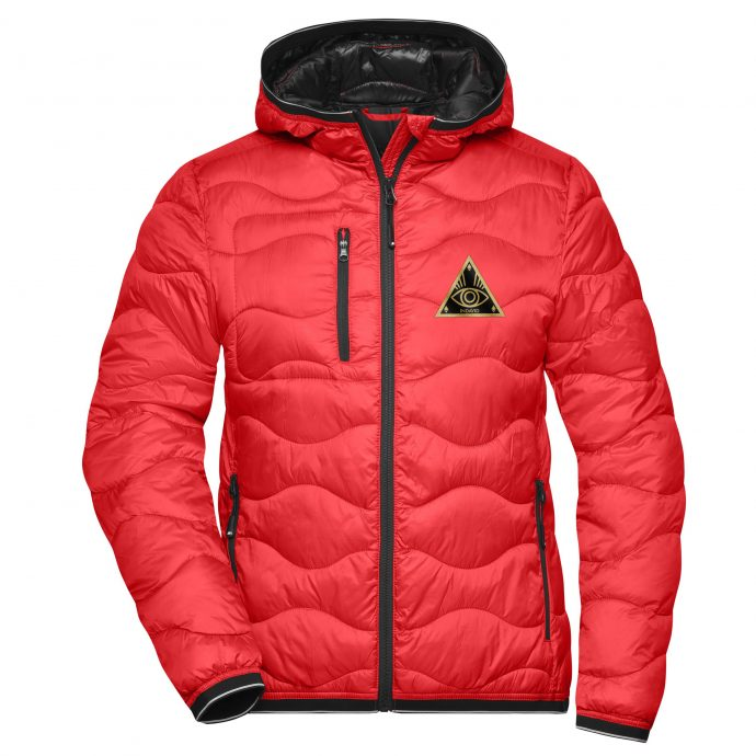 Crystal Stepp Jacke Two Red