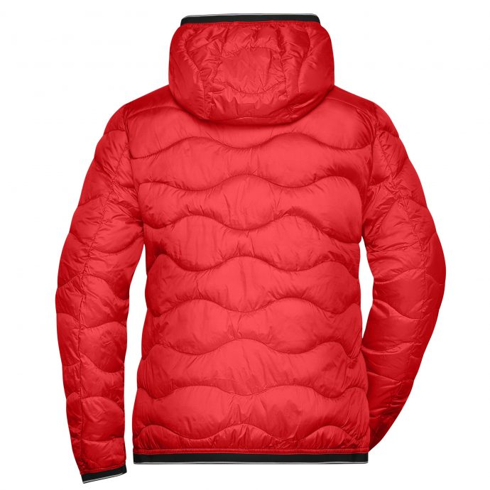 Crystal Stepp Jacke Two Red Back