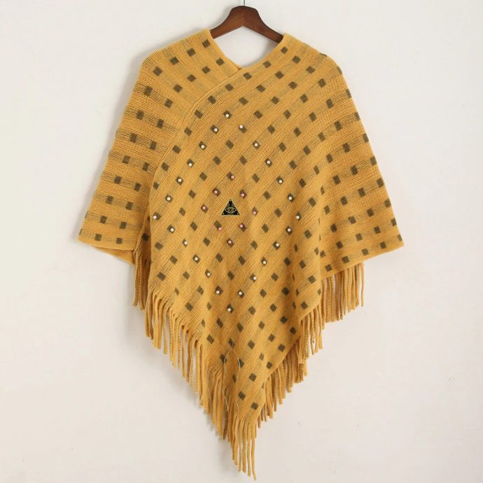 Crystal Poncho 14 Yellow