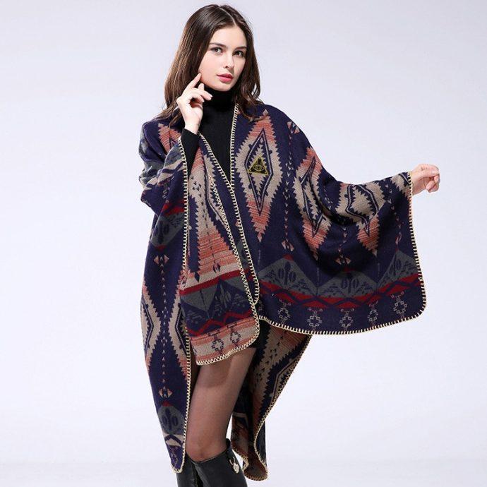 Crystal Poncho Nine Aztek5