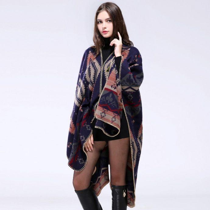Crystal Poncho Nine Aztek6