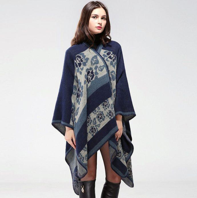 Crystal Poncho Nine BlueFlowers2