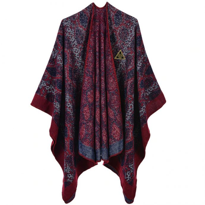 Crystal Poncho Seven