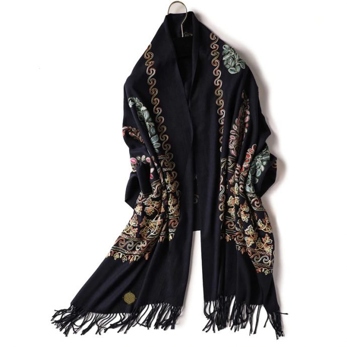 Crystal Schal Two Black