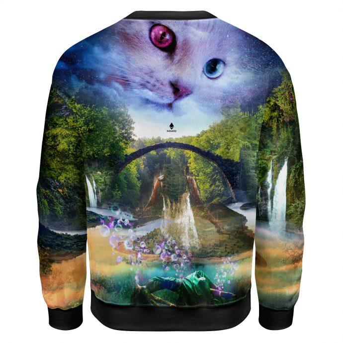 Crystal Sweatshirt Reincarnation One Back