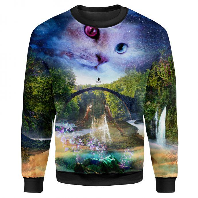 Crystal Sweatshirt Reincarnation One Front
