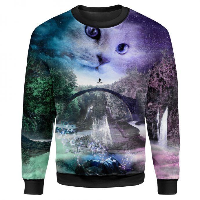Crystal Sweatshirt Reincarnation Two Front