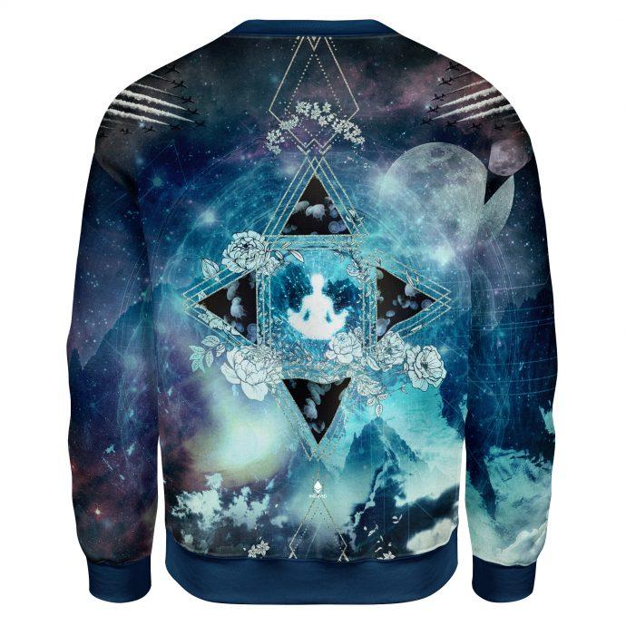 Crystal Sweatshirt Travel One Back