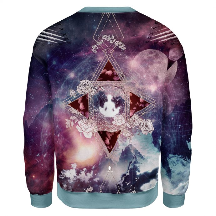 Crystal Sweatshirt Travel Three Back