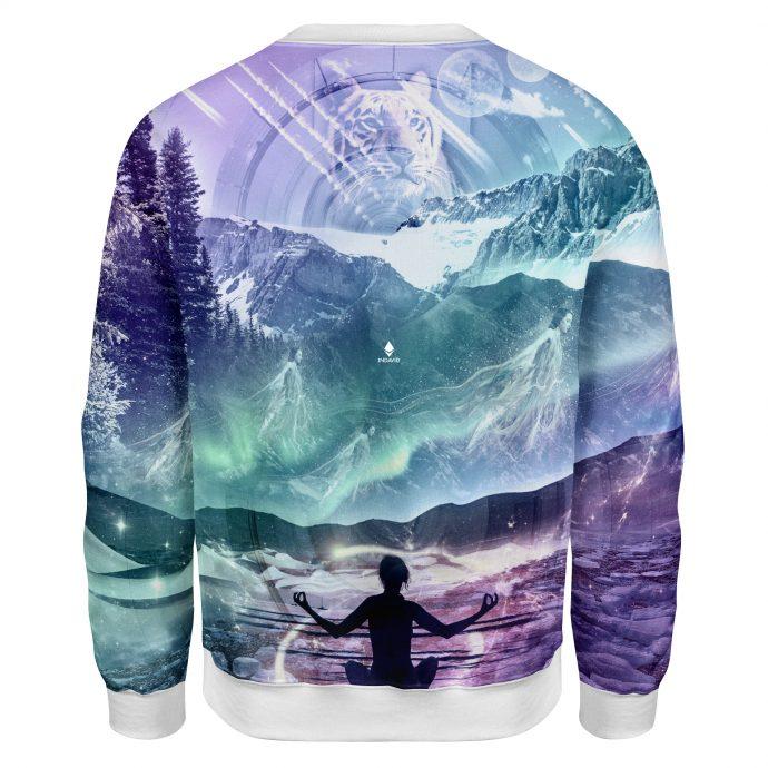 Crystal Sweatshirt Wanderlust Three Back