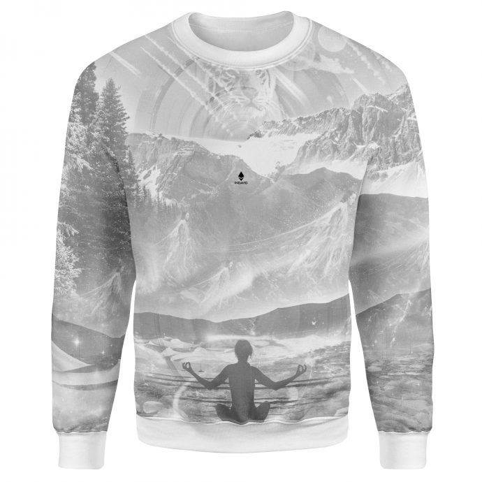 Crystal Sweatshirt Wanderlust Three Front