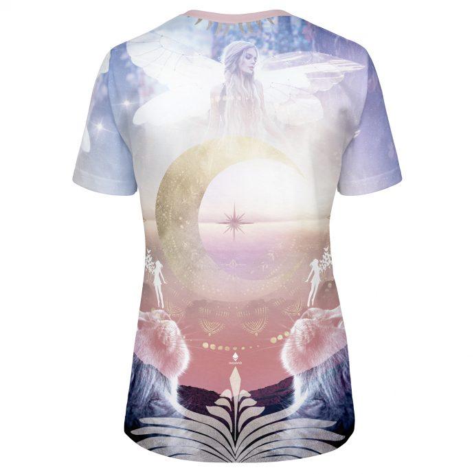 Crystal T Shirt Fly Three Back