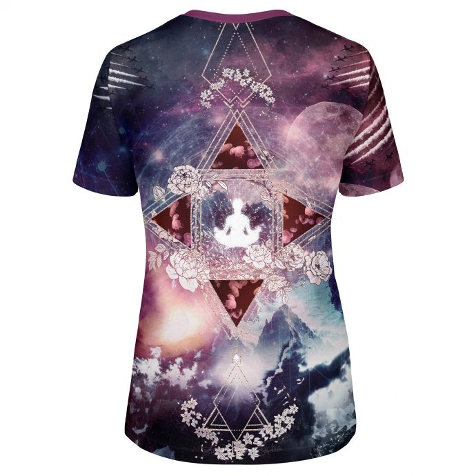 Crystal T Shirt Travel Three Back