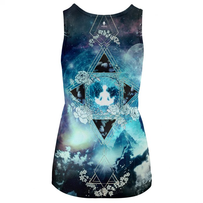 Crystal Tank Top Travel One Back