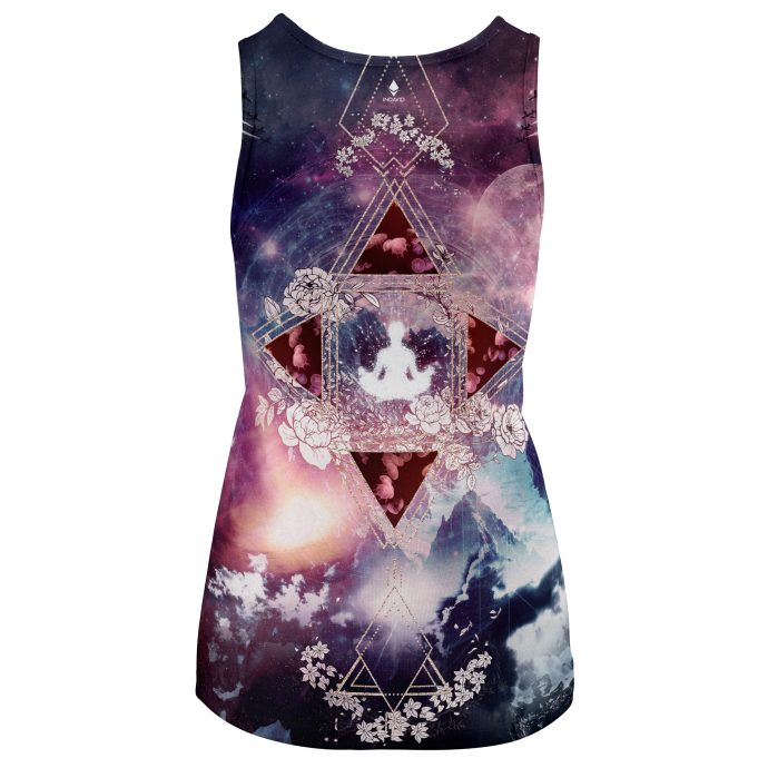 Crystal Tank Top Travel Three Back