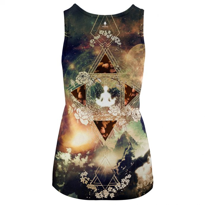 Crystal Tank Top Travel Two Back